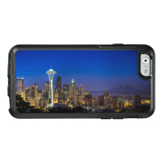 Imagen del horizonte de Seattle en horas de mañana Funda Otterbox Para iPhone 6/6s