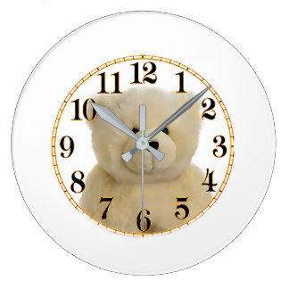 Imagen del oso de peluche para el reloj de pared