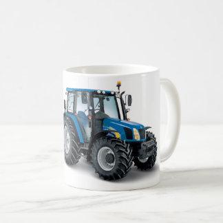 Imagen del tractor para la taza blanca clásica