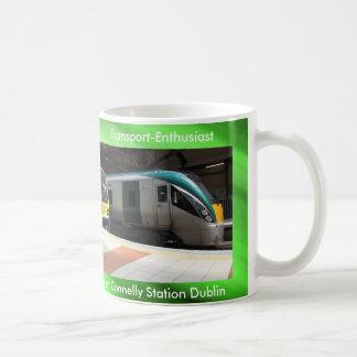 Imagen del tren para la taza blanca clásica