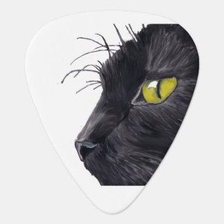 Imagen estándar de Guiatr del gato negro Púa De Guitarra