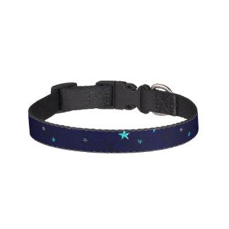 Imagen estrellada de la noche hermosa de la collar para mascotas