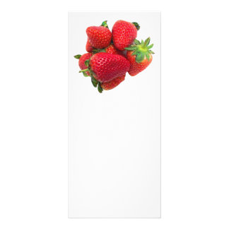 Imagen ideal profunda de las fresas lonas publicitarias