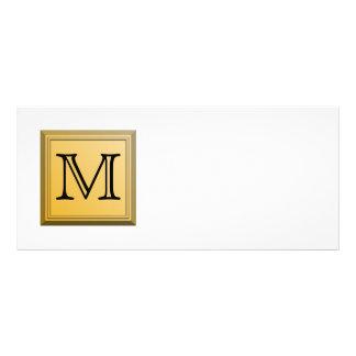 Imagen impresa de un diseño de encargo del monogra lona personalizada