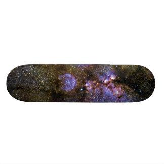Imagen infrarroja de la nebulosa NGC 6334 de la pa Patineta Personalizada