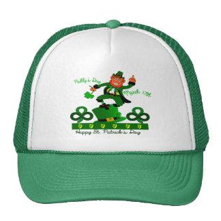 Imagen irlandesa del Leprechaun para el Gorras