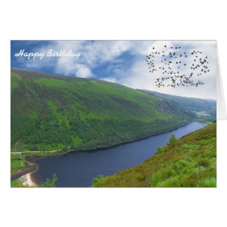 Imagen irlandesa para la cumpleaños-saludo-tarjeta tarjeta