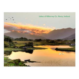 Imagen irlandesa para la postal