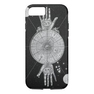 Imagen metafísica de la astrología del vintage funda iPhone 7