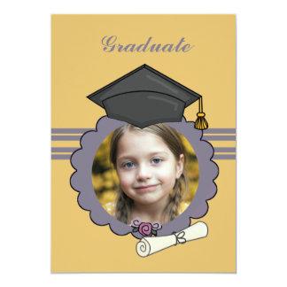 Imagen perfecta - invitación de la graduación de