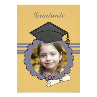 Imagen perfecta - invitación de la graduación de l