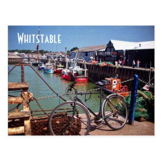 Imagen pintoresca pesquera ida de Whitstable Kent Postal