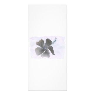 Imagen que frecuenta de una flor del hibisco lona publicitaria