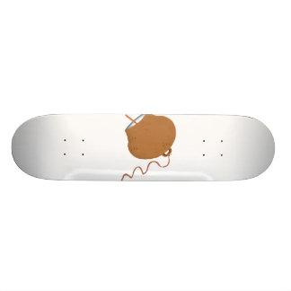 Imagen redonda del gráfico del extracto del cencer patineta personalizada