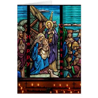 Imagen religiosa para la tarjeta de felicitación