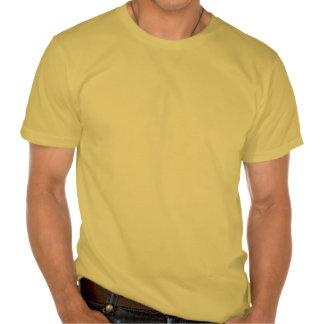 Imagen verde del modelo de la armadura camisetas