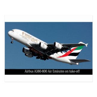 Imágenes de Airbus A380-800 para la postal