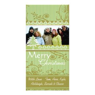 Imágenes de la familia del día de fiesta del tarjetas fotograficas