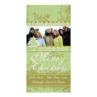 Imágenes de la familia del día de fiesta del tarjetas fotográficas personalizadas