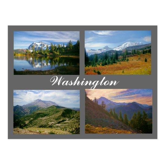 Imágenes de la postal de Washington