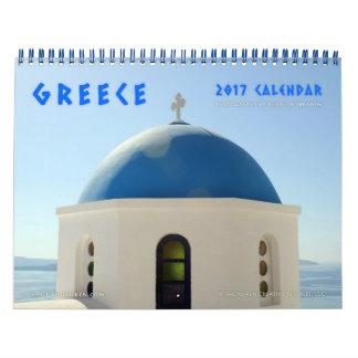 Imágenes del calendario de pared de Grecia
