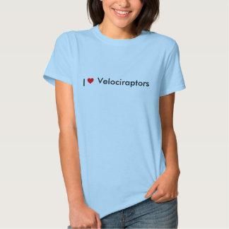 imágenes, I, Velociraptors Camisas