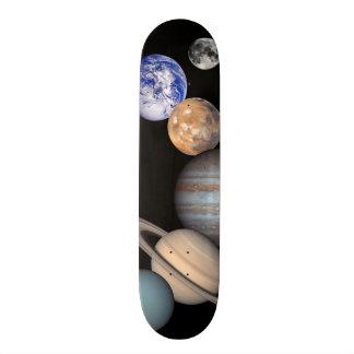 Imágenes planetarias del montaje de la Sistema Tabla De Skate