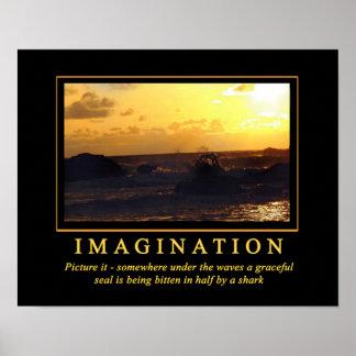 Imaginación de los posters de Demotivational… Póster