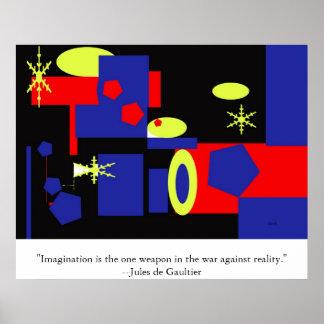 Imaginación el arma impresiones