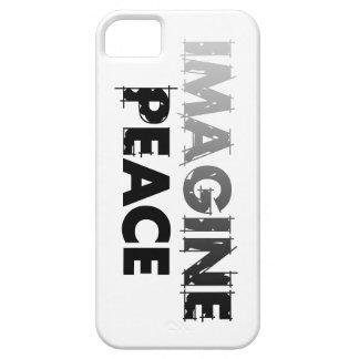 Imagínese la paz V1 Funda Para iPhone SE/5/5s