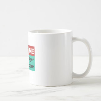 Imagínese la sola atención sanitaria del pagador taza de café