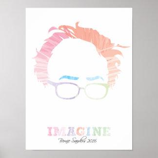 Imagínese las chorreadoras 2016 de Bernie - las Póster