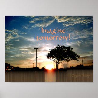 ¡Imagínese mañana! Poster