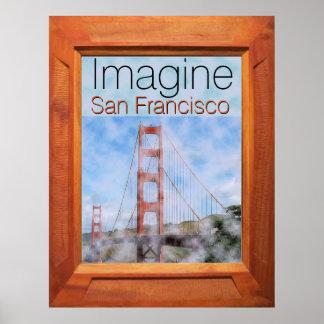 Imagínese San Francisco Póster