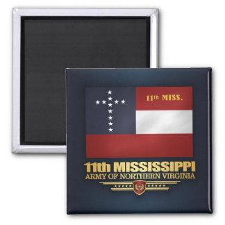 Imán 11mo Infantería de Mississippi