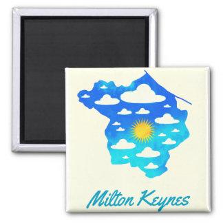 Imán 2016 del refrigerador de Milton Keynes