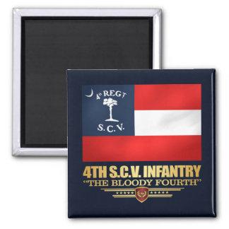 Imán 4to Infantería de Carolina del Sur
