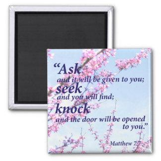Imán 7:7 de Matthew