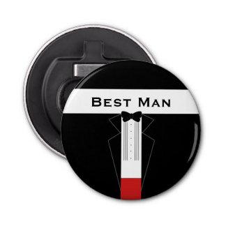 Imán adaptable del abrebotellas del mejor hombre