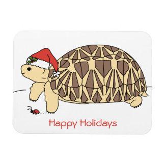 Imán adaptable del día de fiesta de la tortuga de