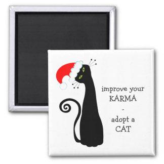 Imán Adopte un gato