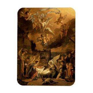 Iman Adoración del navidad de la bella arte de los