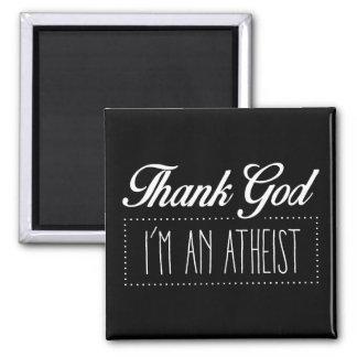 Imán Agradezca a dios que soy un ateo