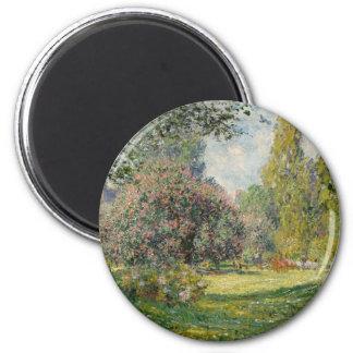 Imán Ajardine el Parc Monceau - a Claude Monet