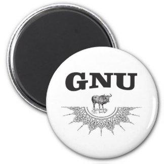 Imán ala del gnu