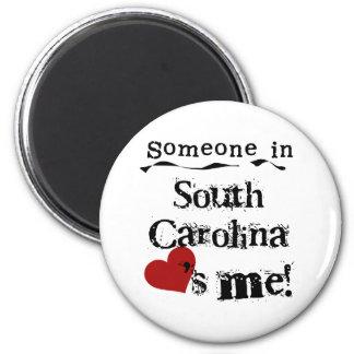 Imán Alguien en Carolina del Sur me ama
