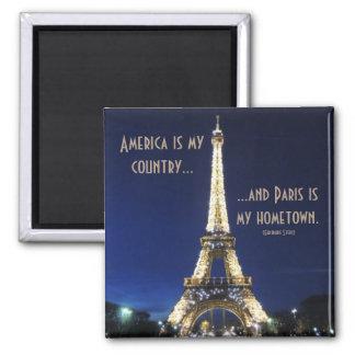 Imán América es mi país y París es mi ciudad natal