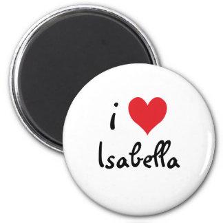 Imán Amo a Isabel