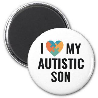Imán Amo a mi hijo autístico
