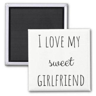 Imán Amo a mi novia
